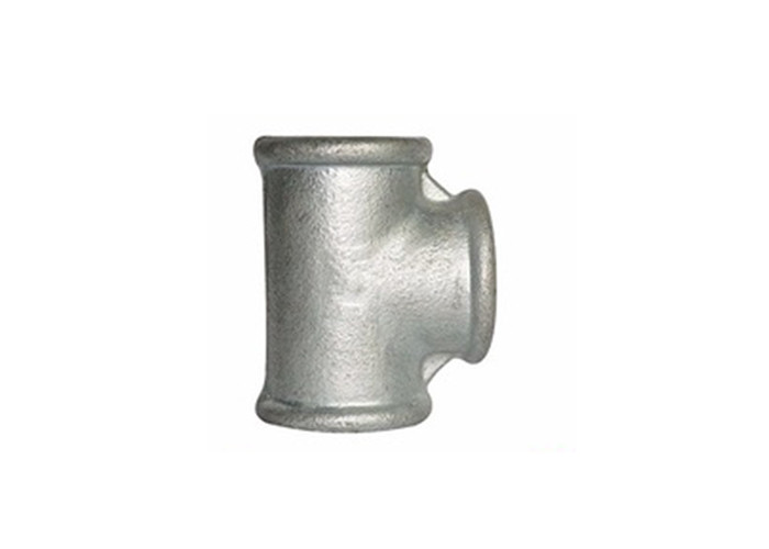 78mm Malleable Iron Pipe Fittings Galvanized Side Outlet Tee Fitting BS Standard