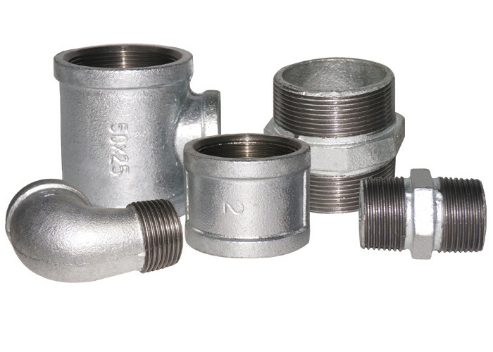 Cast Iron Water Main Plumbing Pipe Fittings 1/2 Inch Galvanized Pipe Coupler