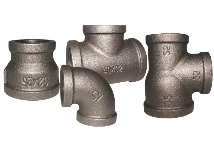 En 10242 Malleable Iron Pipe Fittings 90 Pipe Elbow 1.6Mpa Working Pressure