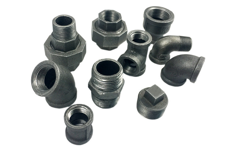 "Din 2950 1/2"" Npt Malleable Iron Elbow Iron Pipe Connectors For Ship Buildings"