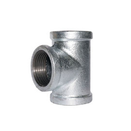 ANSI Standard สีดำสีหมุดอ่อน Tee 3 Way Pipe Fitting Square Head Code